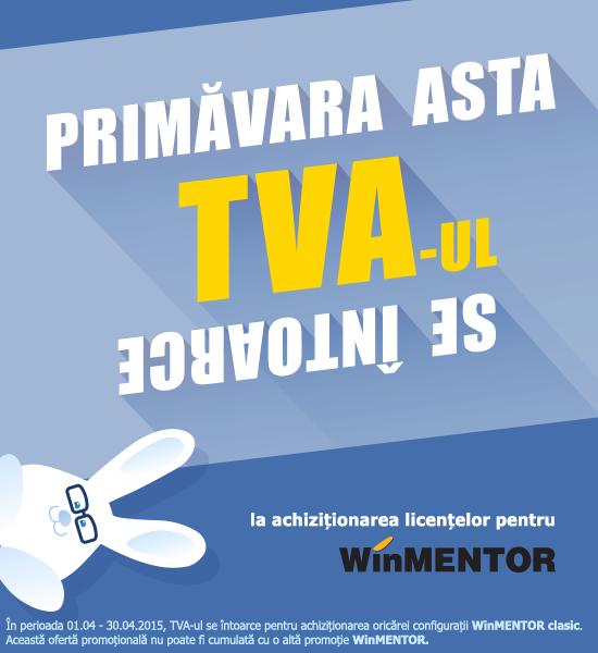 Primavara asta TVA-ul se intoarce la achizitionarea licentelor pentru WinMENTOR